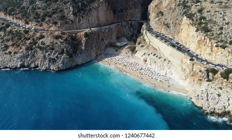 Kaputas Beach is just one of the coves of Antalya. Kaputaş Beach, which has the same name and is surrounded by steep cliffs, is one of the rare natural beauties of our country with this feature.
