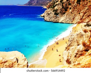 Kaputas beach, Turkey