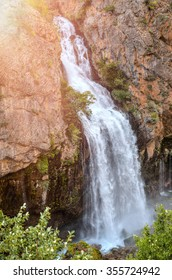Kapuzbasi waterfall Kayseri Turkey