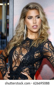 Kara Del Toro at the Los Angeles premiere of 'Unforgettable' held at the TCL Chinese Theatre in Hollywood, USA on April 18, 2017.