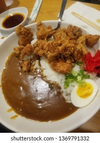 Karaage curry bowl