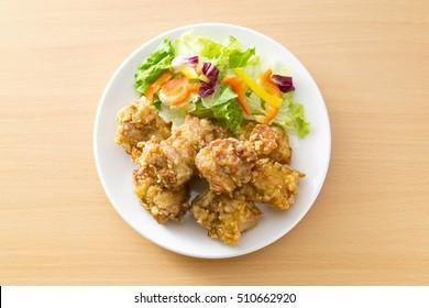 karaage japanese food