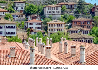 Karabuk, Turkey, 21 May 2013: Historic Mansions, City View of Safranbolu