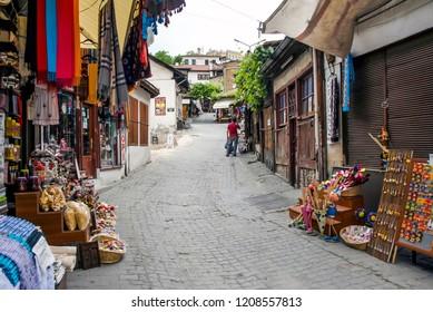 Karabuk, Turkey, 23  May 2013: Bazaar at Safranbolu
