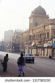 Karachi, Pakistan: January 10, 2019 ; Zaibunnisa Street is a famous street in Karachi, Pakistan located in the Saddar area in the heart of the city.