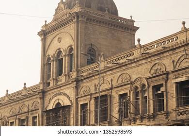 Karachi, Pakistan: January 10, 2019 ; Popular building at Zaibunnisa Street, a famous street located in the Saddar area of Karachi.