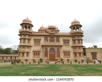 Karachi, Sindh / Pakistan - August 22 2018: The Mohatta Palace, a museum located in Karachi.