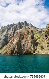 Karadag volcano mountain view, Crimea, Russia