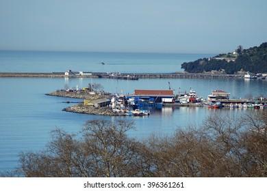 Karadeniz Eregli View from Hotel Window