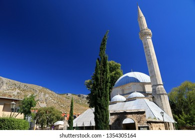 Karadjoz Bey Mosque (Karagoz Mehmed Beg Mosque), Mostar, Bosnia and Herzegovina