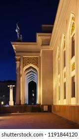 KARAGANDA. KAZAKHSTAN. 06 JUIY 2016 : Palace of culture of miners in Karaganda. Kazakhstan