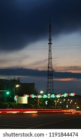 KARAGANDA. KAZAKHSTAN. 06 JUIY 2016 : Bukhar-Zhyrau avenue in Karaganda. Kazakhstan
