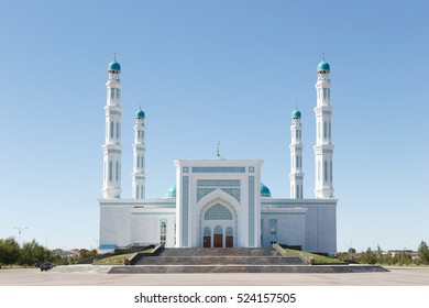 Karaganda, Kazakhstan - September 1, 2016: Karaganda oblast mosque