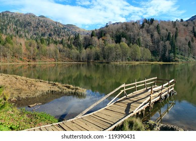 Karagol (Black lake) in Eastern Black Sea, Artvin, Turkey.