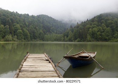 Karagol (Black lake) in Eastern Black Sea,Artvin,Turkey.