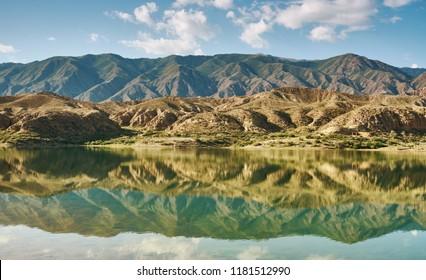 Karakol lakes, located kyrgyzstan , Central Asia