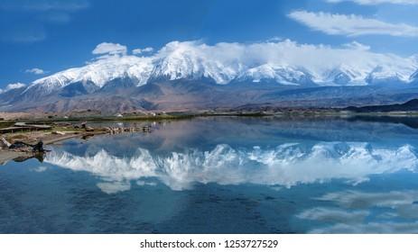 Karakul Lake, Pamir Plateau, Xinjiang