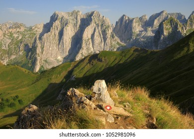 Karanfili Peaks Group in Prokletije Mountains, Montenegro