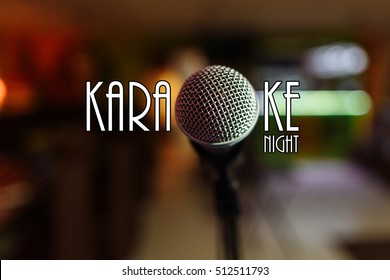 Karaoke text - Karaoke Night