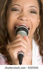 Karaoke Woman