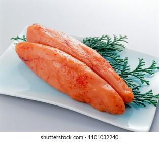 Karashi-Mentaiko(spicy pollack roe)