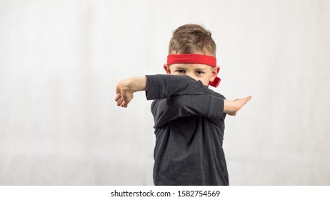 Headband Karate Punch