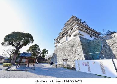 Karatsu Castle in Karatsu City in Saga Prefecture