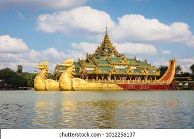 Karaweik palace, Yangon Myanmar