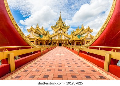 Karaweik palace in Yangon, Myanmar
