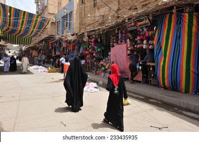 KARBALA, IRAQ - MAY 22: Street of Karbala and daily life on May 26, 2012 in Karbala, Iraq.