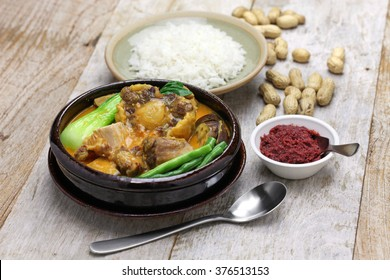 Filipino food images stock photos vectors shutterstock kare kare filipino oxtail stew philippine cuisine forumfinder Gallery