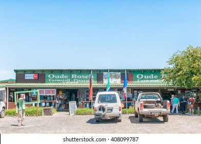 KAREEDOUW, SOUTH AFRICA - FEBRUARY 28, 2016:  A farm stall and information centre next to the R102 Regional Road between Humansdorp and Plettenberg Bay