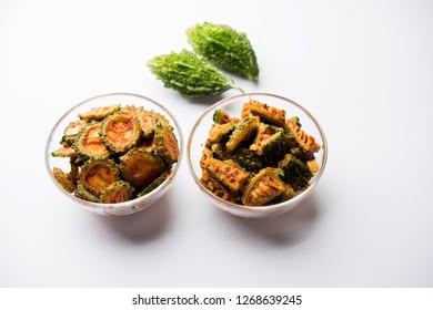 Karela Achar / Bitter Gourd Pickle, popular Indian recipe