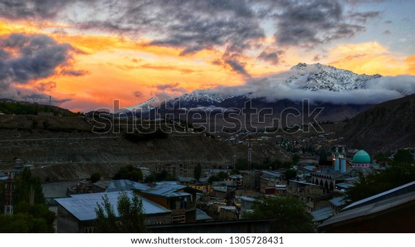 Kargil Town Kargil District Ladakh Region Stock Photo (Edit