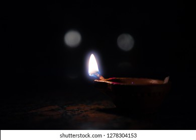 Karhtika Deepam Indian Lamp