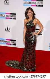 Karina Smirnoff at the 2010 American Music Awards held at the Nokia Theatre L.A. Live in Los Angeles on November 21, 2010.