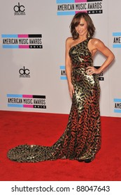 Karina Smirnoff at the 2010 American Music Awards at the Nokia Theatre L.A. Live in downtown Los Angeles. November 21, 2010  Los Angeles, CA Picture: Paul Smith / Featureflash