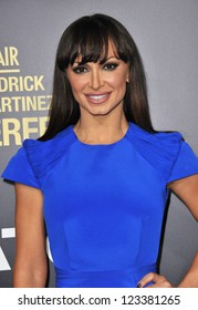 """Karina Smirnoff at the premiere of """"End of Watch"""" at the Regal Cinemas LA Live. September 17, 2012  Los Angeles, CA Picture: Paul Smith"""