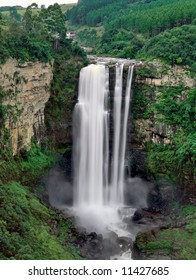 The Karkloof Falls in South Africa's Kwazulu-Natal Province.