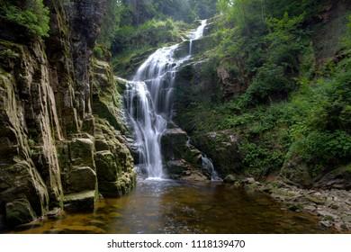 Karkonosze national park in Poland, Europe