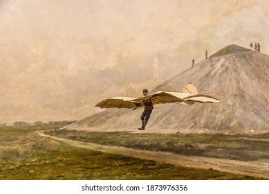 "Karl Wilhelm Otto Lilienthal  was a German pioneer of aviation who became known as the ""flying man"", and the first person to make well-documented, repeated, successful flights with gliders."