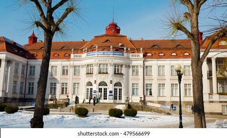 Karlovy Vary, Czech Republic, winter 2012: Elizbeth Baths