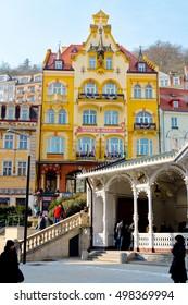 Karlovy Vary, Czech Republic, winter 2012: Romance Hotel