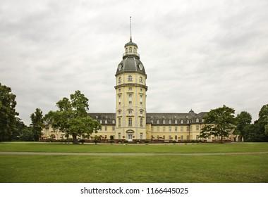 KARLSRUHE. GERMANY. 24 JUNE 2009 : Karlsruhe Palace. Germany