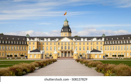 Karlsruhe Palace in a sunny day