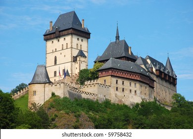 Karlstejn Castle in the Czech Republic