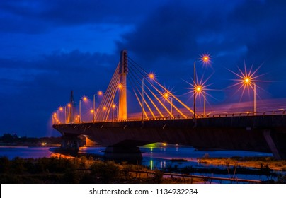 Karnafuli Bridge, Chittagong, Bangladesh.