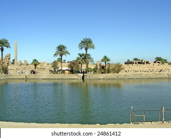 Karnak - ancient temple of Egypt, Luxor, Africa. To see similar images, please VISIT MY GALLERY.