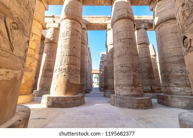 The Karnak Temple Complex, commonly known as Karnak, comprises a vast mix of decayed temples, chapels, pylons, and other buildings near Luxor, in Egypt