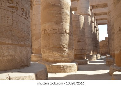 The Karnak Temple Complex, commonly known as Karnak comprises a vast mix of decayed temples, chapels, pylons, and other buildings near Luxor, in Egypt.